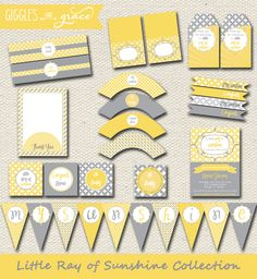 You Are My Sunshine Party Theme Supplies   Lifeu0027s Little CelebrationsLifeu0027s  Little Celebrations