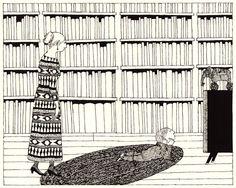 The Shrinking of Treehorn: An Edward Gorey Illustrated Treasure, 1971 | Brain Pickings