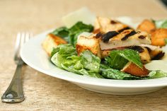 chicken caesar salad 2 by annieseats, via Flickr