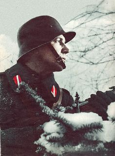 A Soldier of Waffen SS's Latvian Legion. There was two latvian divisions in waffen ss, the 15th grenadier division(1st Latvian) & 19th grenadier division(2nd Latvian).