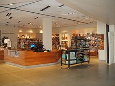 Rakks Shelving and Brackets in Rio Tinto Center Museum Giftshop