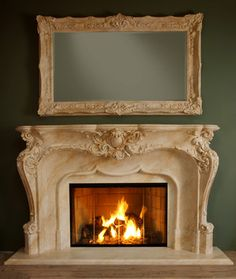 Discover stainless steel fireplace mantels only in indoneso design Fireplace Mantels For Sale, Marble Fireplace Mantel, Custom Fireplace, Rustic Fireplaces, Marble Fireplaces, Fireplace Surrounds, Mantles, Family Room Fireplace, Home Fireplace
