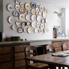 Dining area - Jamie Theakston's quirky London home'