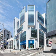 Chungha in Gangnam by MVRDV (Seul, South Corea) #architecture