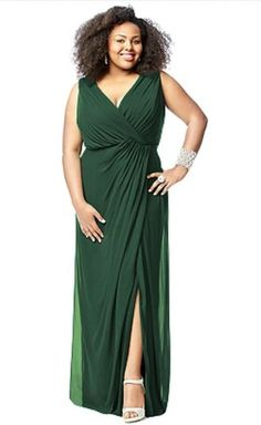 3c6baf28775 Check out the deal on Lovelie 9006 Plus Size Lux Chiffon Bridesmaid Gown at  French Novelty