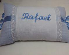 Travesseiro personalizado azul 7