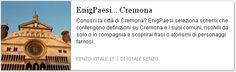 Comuni in provincia di #Cremona inseriti come definizioni in schema enigmistico e cruciverba