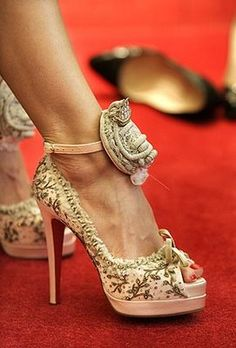 Christian Louboutin Marie Antoinette shoes - only 36 pairs in the world!