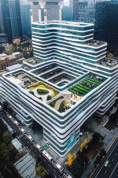 Chengdu, China : CityPorn (post by u/fueledbyshots) Chinese Architecture, Futuristic Architecture, Facade Architecture, Amazing Architecture, Restaurant Hotel, Arch Building, Future Buildings, Hotel Concept, Hospital Design