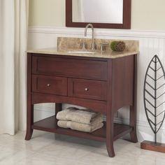 "Fairmont Designs VH36 36"" Shaker Bathroom Vanity, does not include top $1012"