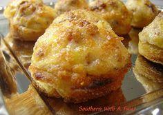 Bacon Parmesan Puffs