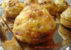 Bacon Parmesan Puffs