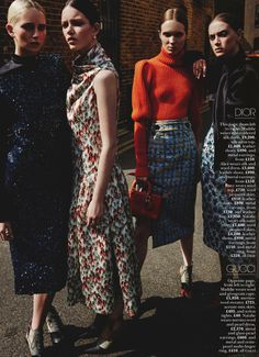 The Fall by David Roemer for Marie Claire UK September 2016 - Dior