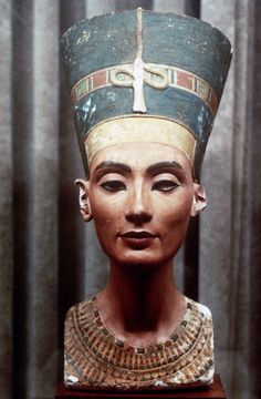 Nefertiti  en el Museum de Berlín.