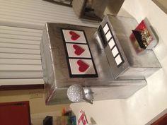 Slot machine valentine's box valentine's казино вечеринка, в Casino Party, Fète Casino, Casino Theme Parties, Casino Night, Vegas Party, Vegas Theme, Casino Cakes, Pinup Art, Jack O'connell