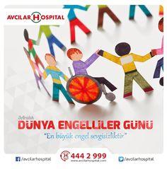 """3 Aralık Dünya Engelliler Günü """"En büyük engel sevgisizliktir.""""  #EngelleriKaldır #3AralıkDünyaEngellilerGünü #3aralık #engelsizyaşam"""
