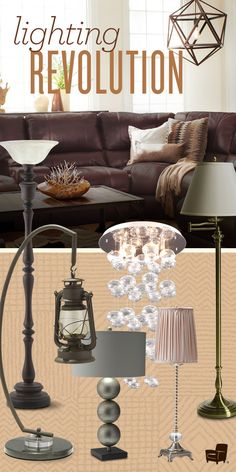 Set your home on fire with these amazing lamps, chandeliers and other lighting pieces!
