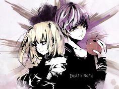 Misa and Light - Death Note Dramas, Light And Misa, Amane Misa, Death Note デスノート, Manga Anime, Anime Art, Nate River, Light Yagami, L Lawliet