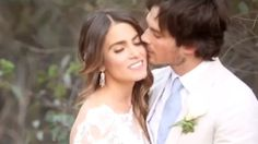 Reed posted the sweet clip to Instagram, opening up the couple's gorgeous wedding for all the world to see.