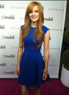 Bella Thorne Blue Dress