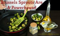 Brussels+Sprouts+Are+A+Powerhouse! Plus a wonderful balsamic Brissels Sprouts Recipe. Food Tips, Food Hacks, Real Food Recipes, Healthy Fruits, Healthy Foods, Healthy Recipes, Healthy Dieting, Sprouts Recipe, Dieting Tips