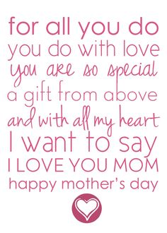 Happy Mothers Day Quotes : QUOTATION – Image : As the quote says – Description free printable mothers day place mats Niece Quotes, Daughter Quotes, Mom Quotes, Mother Quotes From Daughter, Child Quotes, Family Quotes, Short Mothers Day Quotes, Happy Mother Day Quotes, Poems For Mothers Day