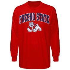 c47553807 College Fresno State Bulldogs Midsize Long Sleeve T-Shirt - Cardinal  Bulldogs, Cardinals,