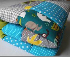 Kinderdecke,Babydecke,+Krabbeldecke,+Patchworkdeck+von+LanaBW+auf+DaWanda.com