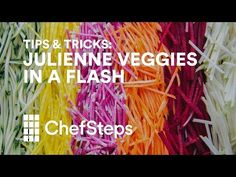 How to Quickly Julienne Vegetables – Honest Cooking