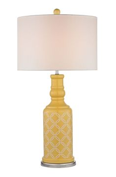 Sunshine Yellow Chepstow Table Lamp