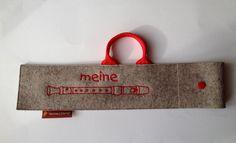 Flötentasche / Flötenhülle für Blockflöte von Hermers-Design auf DaWanda.com