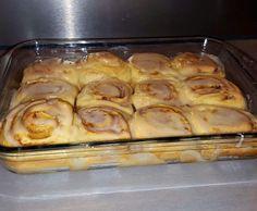 Rezept Cinnamon Buns - Zimtschnecken nach USA Rezept von bjoernilein2000 - Rezept der Kategorie Backen süß