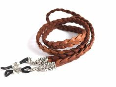 Cowboy Accessories, Leather Accessories, Leather Jewelry, Leather Chain, Braided Leather, Leather Cord, Imitation Jewelry, Glass Necklace, Diy Earrings