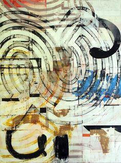 "Harold Hollingsworth  jägerklause - mixed media on canvas - 30""x40"" - 2012"