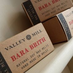 New! After months of deciding we've chosen Valley Mill as our new supplier of Soaps Candles and Wax Melts! The shop smells amazing!!