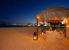 Enjoy a romantic dinner