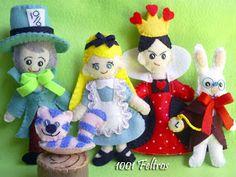 "1001 Feltros: Concurso: ""Alice no País das Maravilhas"""