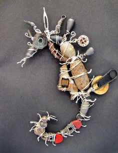 Found-Object+Art/Images | Try, Try Again....!: Digger!! (Found Object Art :)
