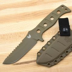 """Quite possibly the sharpest knife """"out of the box"""" that I've ever owned. Great knife. Benchmade Adamas fixed."""
