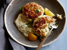 The Ultimate Crab Cakes Recipe : Tyler Florence : Food Network - FoodNetwork.com