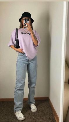 Tomboy Fashion, Teen Fashion Outfits, Mode Outfits, Retro Outfits, Girly Outfits, Cute Casual Outfits, Streetwear Fashion, Stylish Outfits, Looks Hip Hop
