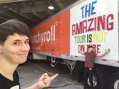 US Tour truck