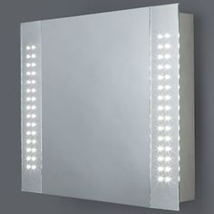 Ambient Bathroom Cabinets With Lights Sensors Internal Shaver