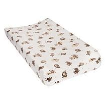Trend Lab Flannel Changing Pad Cover, Safari RockBand