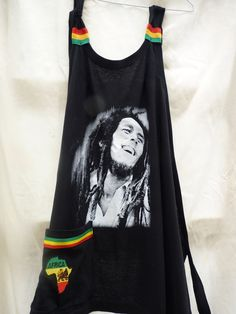 Upcycled Bob Marley t shirt Halter top by Royalnatty on Etsy, $35.00 Bob Marley Shirts, Tunic Tank Tops, Paisley Design, Upcycle, Organic Cotton, Plus Size, Trending Outfits, Music, T Shirt