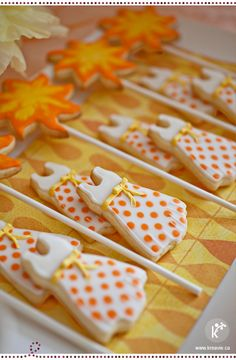 Sun and dress cookies / summer party