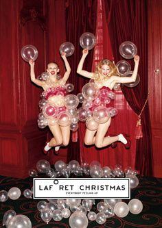 Daisy Balloon | Laforet  /December 24 , 2010  artwork :  rie hosokai (daisy balloon)+takashi kawada (kotenhits)  artdirection : rikako nagashima  photography : kazuhiro fujita  stylist : mana yamamoto  make-up : akihiro sugiyama (mod's hair)