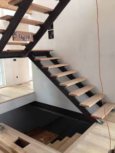Image result for residential steel staircase