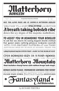 DesignerLand: Matterhorn