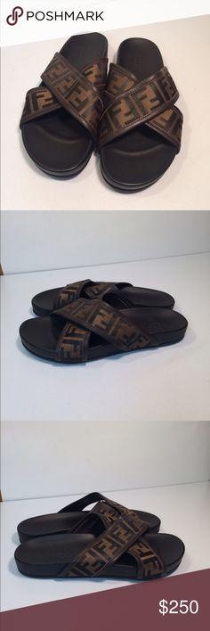 1f7bbb977daf Mens Brown Leather Goth Gladiator Fashion Thongs Flip Flops Sandals SKU-1280084